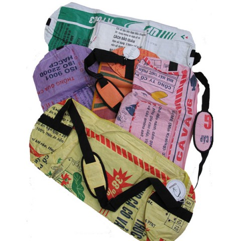 Yoga Mat Carry Bag Recycled Rice Paper